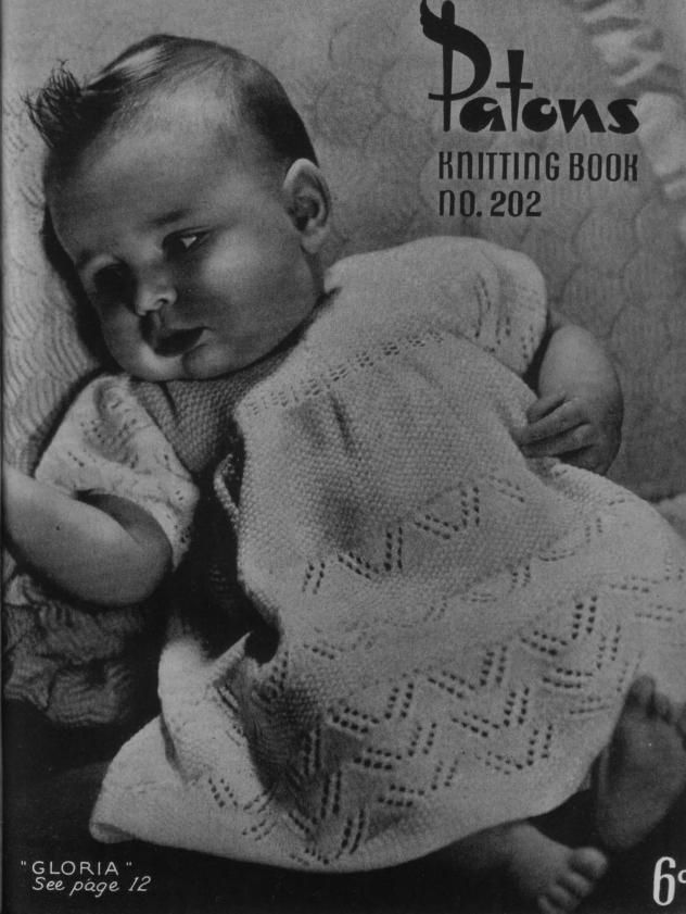9b59f8384 Patons 202 Vintage Baby Knits
