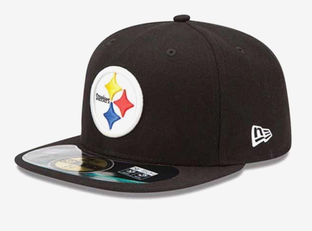 be68c6101 Pittsburgh Steelers New Era 59Fifty Official On Field 7 1/8 Fitted ...