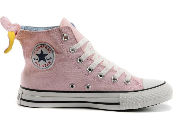 a052d5b699d KH50200 Converse All Star roze strik meisje vrouwen Hoge Dames Tops VIVI  Magazine aanbevelen Schoenen te koop
