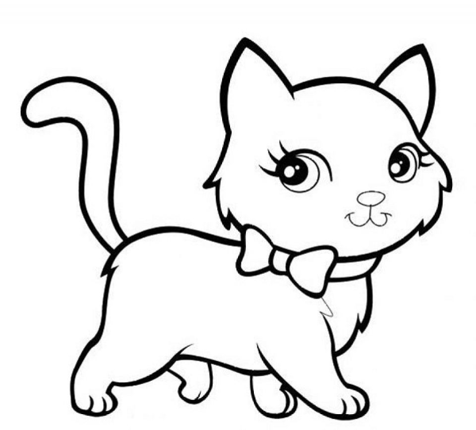 Baby Kitten Coloring Pages 84624 Kittens Coloring Cat Coloring Page Kitty Coloring