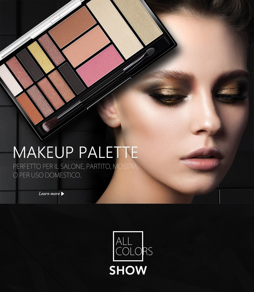 EXCEL Real Clothes Eyeshadow Palette Quad JAPAN 6 Colors