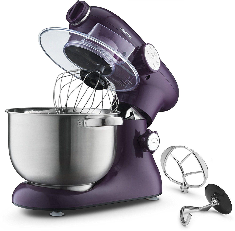 Gourmia ep700 7quart 6 speed stand mixer