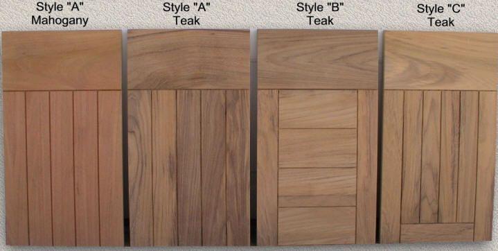 Doors Outdoor Kitchen Custom Teak Marine Woodwork Outdoor Cabinet Outdoor Kitchen Teak Outdoor