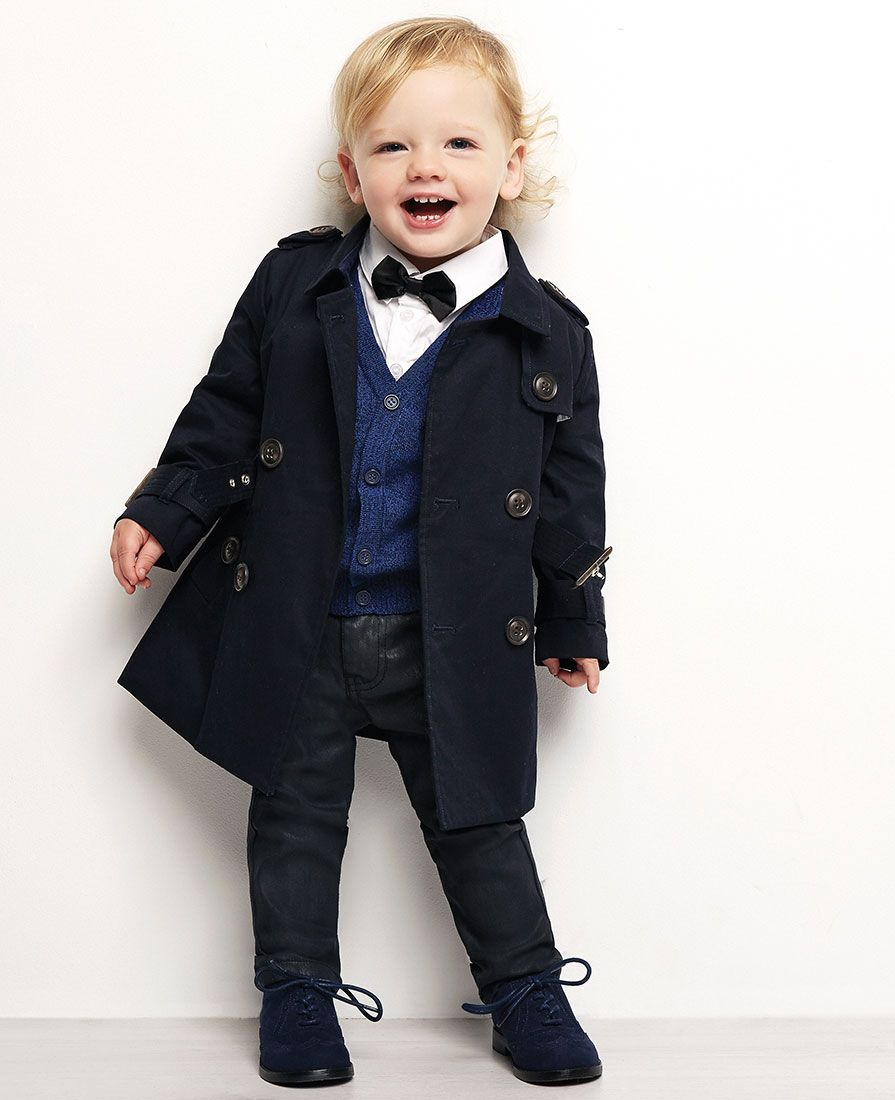 cd552db83 Baby Boy s Romeo Trench Coat - Bardot Junior