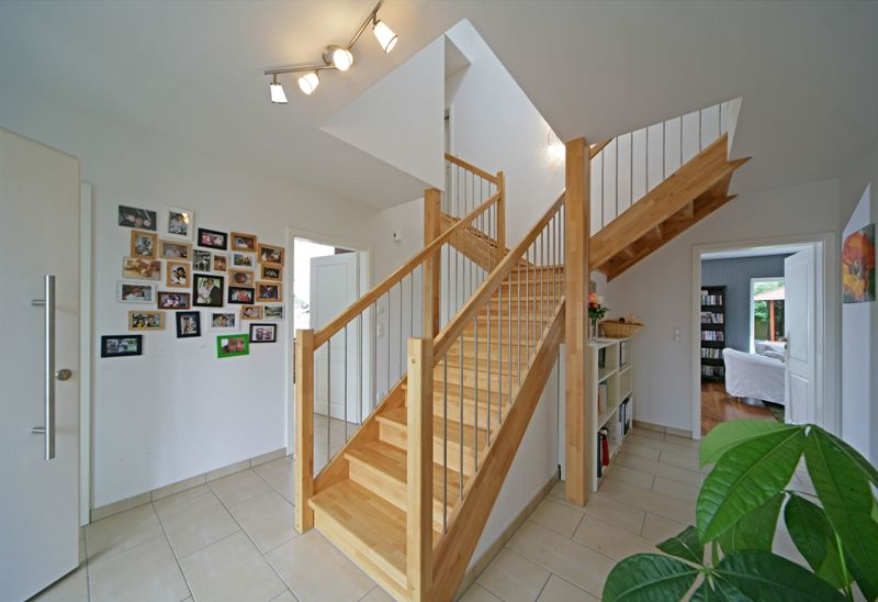 Fertighaus   Wohnidee Diele/Flur/Treppe