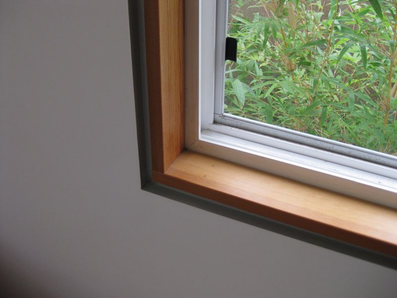 Minimal Window Trim For Kitchen Windows