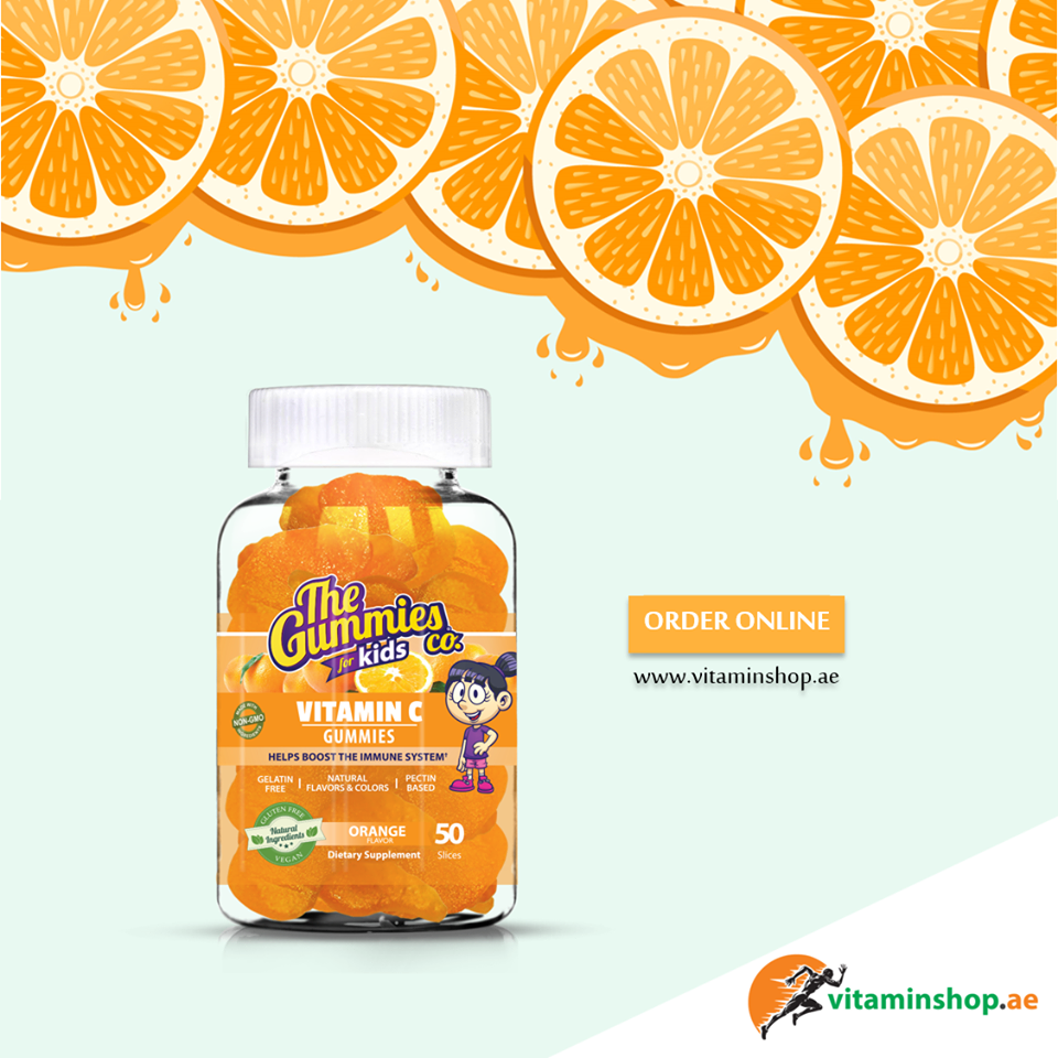 Vitamin C Gummies For Kids Provides Vital Antioxidant Support It Helps Reduce The Effects Of Cell Damaging Free Radicals In Vitamin C Gummies Gummies Vitamins