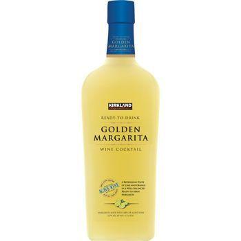 Kirkland Signature Ready To Drink Golden Margarita Wine Cocktail