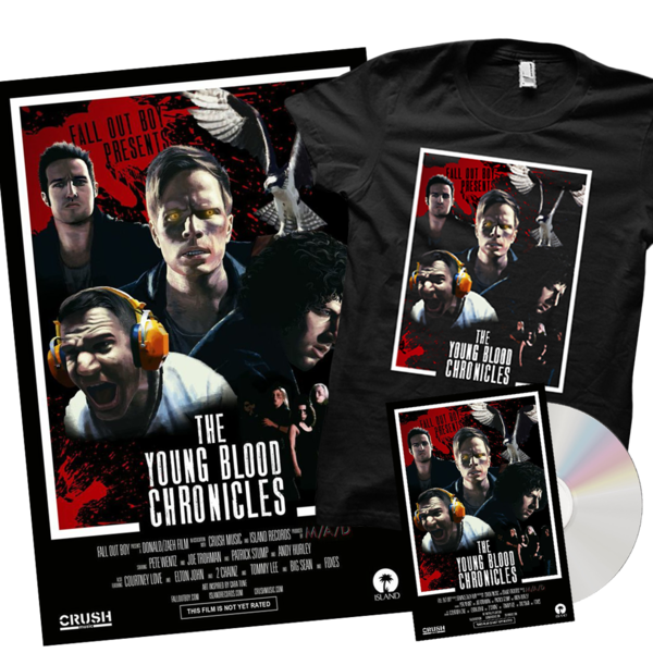 The Young Blood Chronicles DVD / Poster / T-Shirt