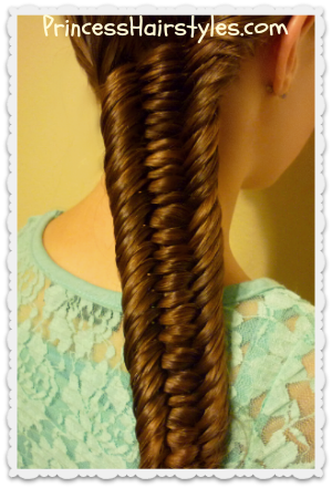 Pin By Princess Hairstyles On Princess Hairstyles How To Hairstyles For Girls Hair Styles Princess Hairstyles Fishtail Braid Hairstyles