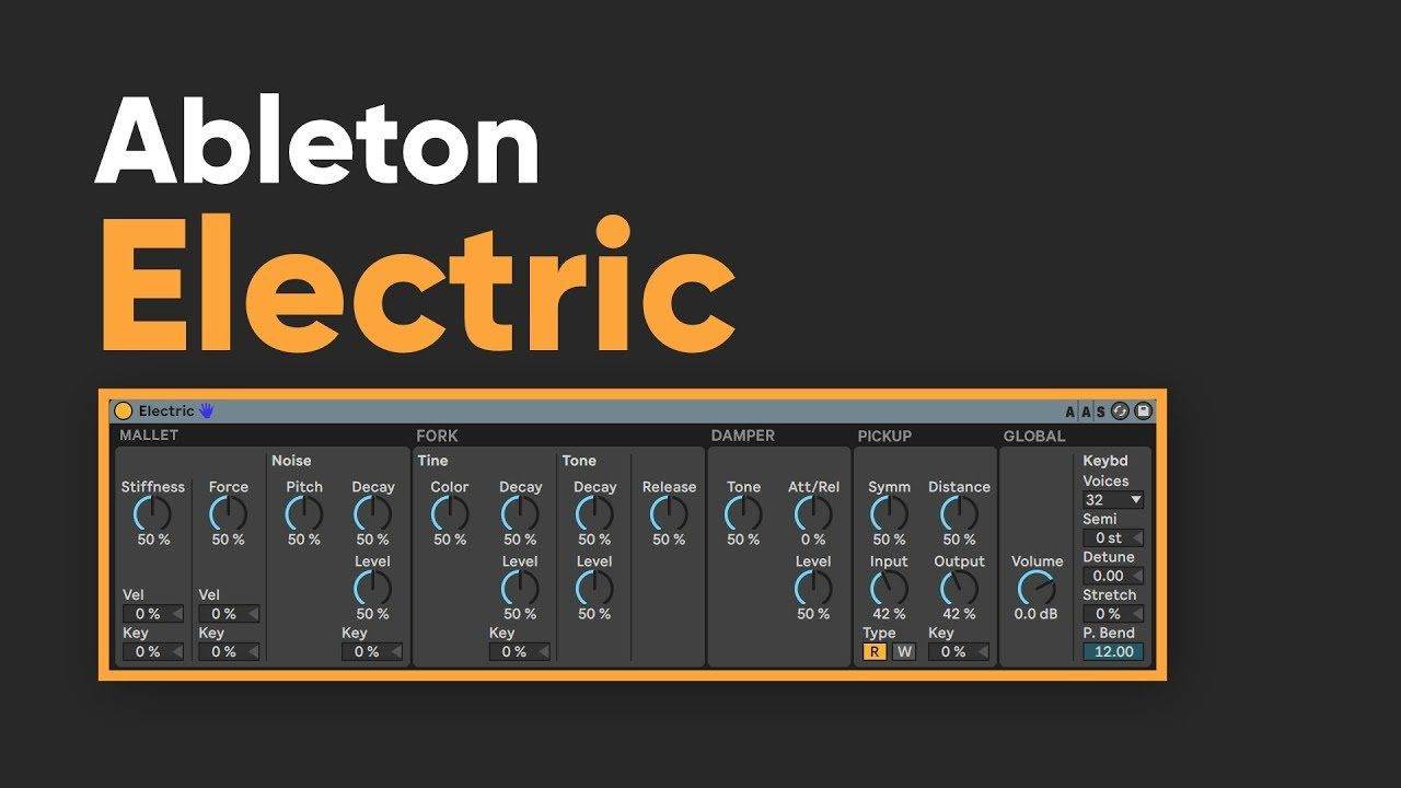 Ableton Live Electric tutorial (<7 min) #ableton #music #production