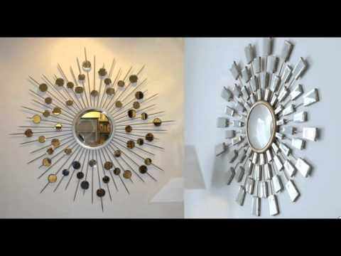How to make a sun mirror step by step YouTube crativitarts