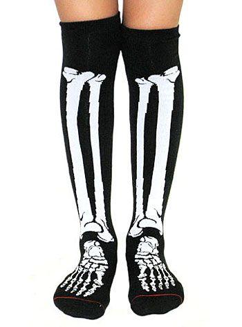 f8bfcb951 X-Ray Skeleton Over-The-Knee Socks at ShopPlasticland.com ...