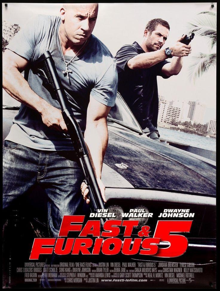 Fast Five 2011 Fast Furious 5 Fast Five Fast And Furious