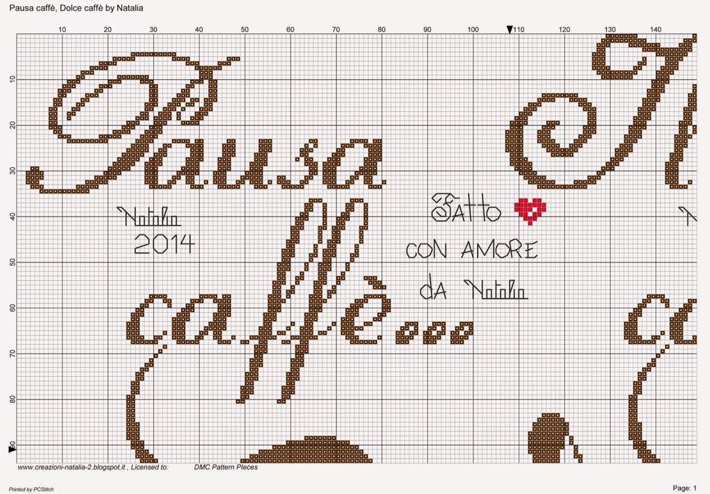 Pausa caff punto croce cucina pinterest - Il budda nello specchio pdf gratis ...