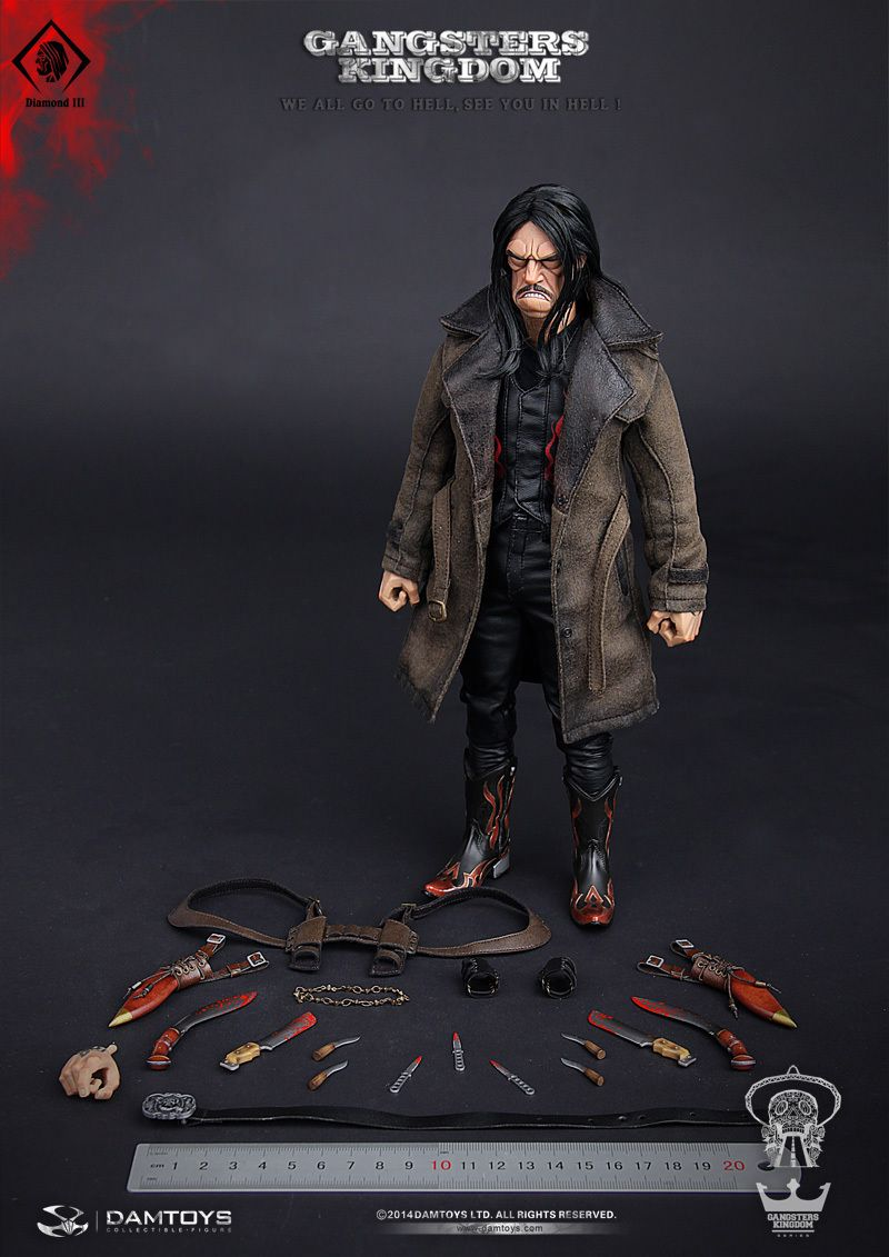 "Very Cool Toys 1//6 Scale 12/"" Medicated Psychopath James Action Figure VCM-3008"
