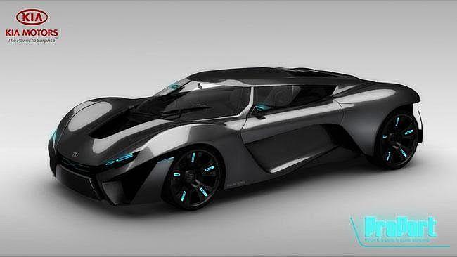 Kia Proport Represents The Futuristic Power Cool Cars - Cool kia cars