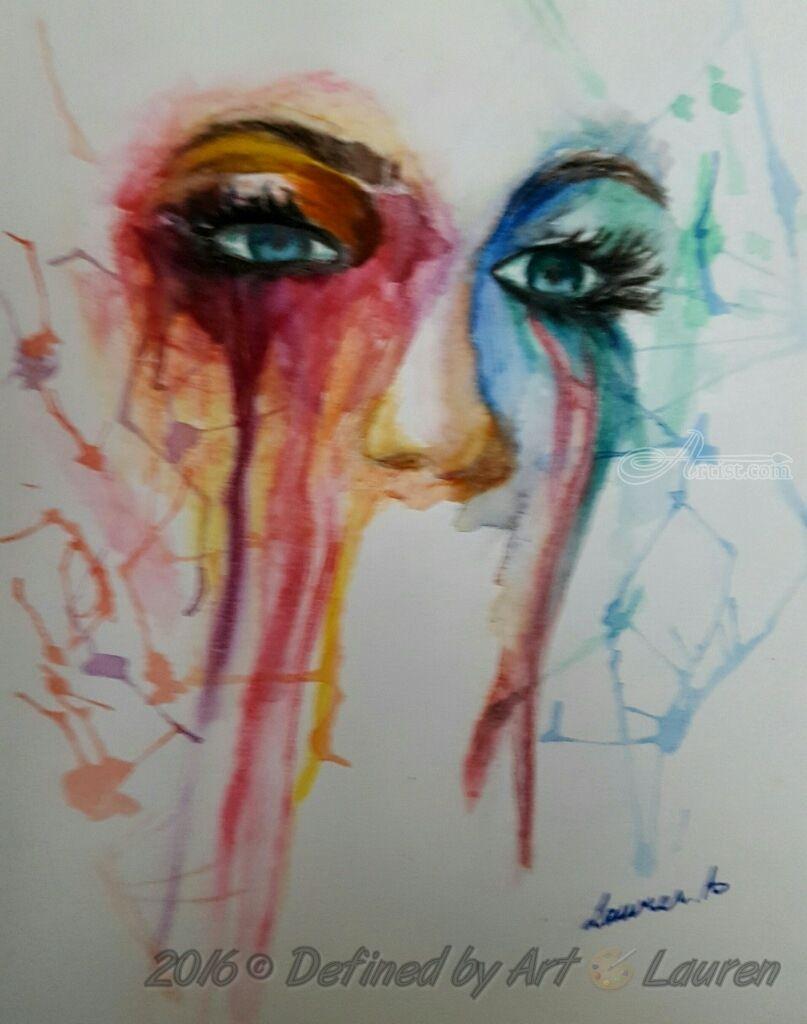 Through My Eyes Eye Painting Art Painting