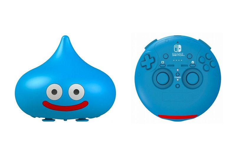 Square Enix Preps A Dragon Quest Slime Controller For The Nintendo Switch Dragon Quest Slime Nintendo Switch