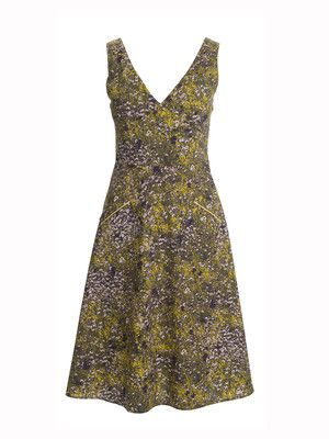 Kleid mit aufgesetzten taschen
