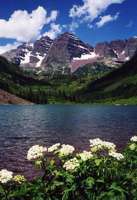 Maroon Bells Landscape Photography Colorado Travel Landscape