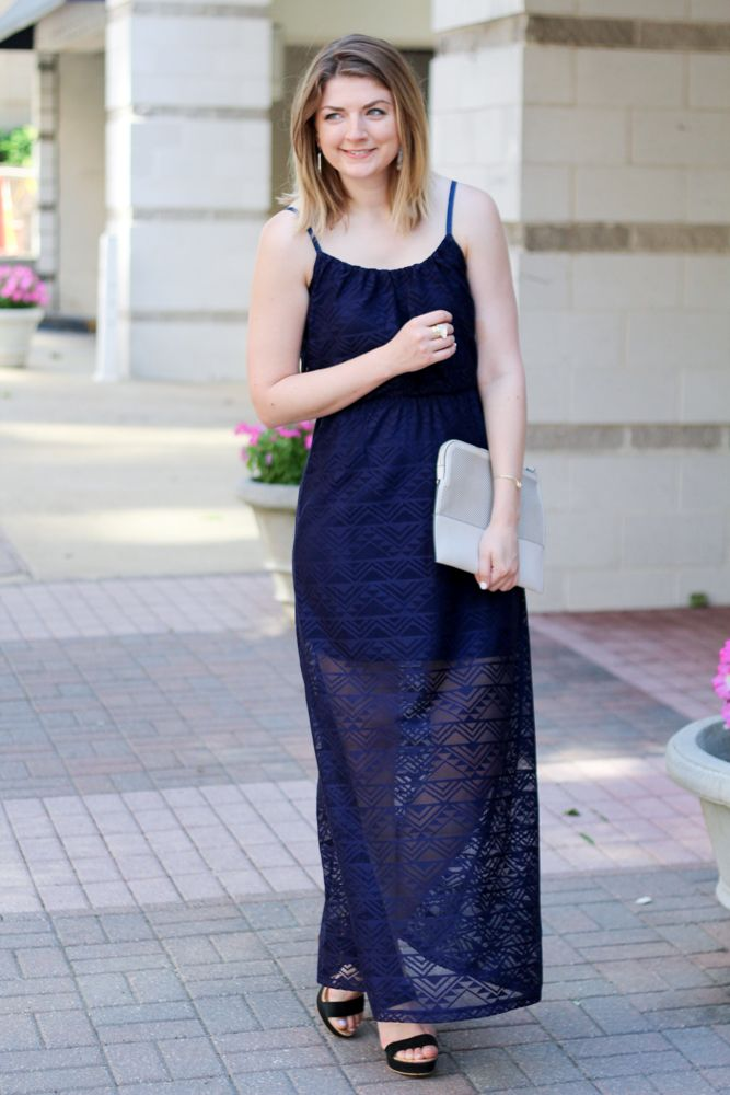 7c269098f Le Tote Clutch | Blogger style | Maxi Dress | Summer Style | Champagne And  Blue Jeans