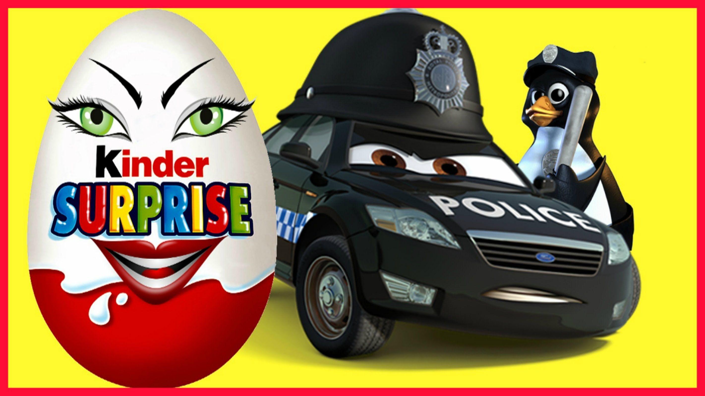 Kinder joy toys car  Kinder surprise unboxing Welcome home to Kinder Surprise Unboxing