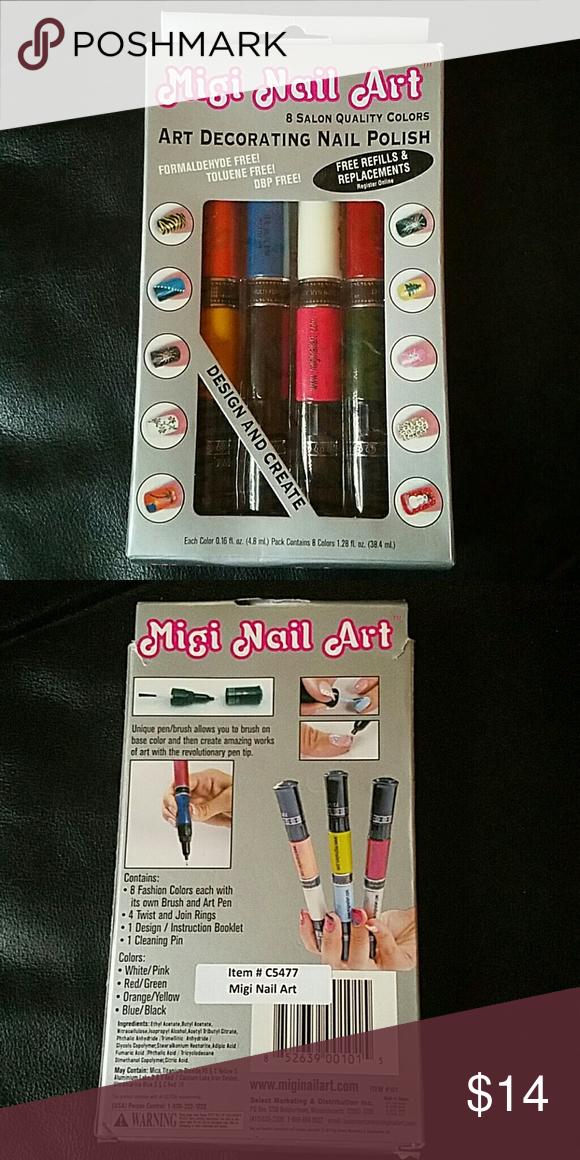 New Migi Nail Art Pens Pinterest Nail Art Pen Pen Brands And