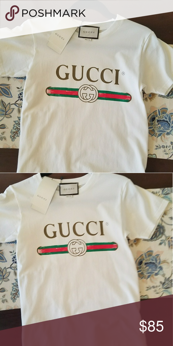 43d216595 Gucci T-shirt Great quality. Cotton. Made in Italy. Size: S, M, L, XL.  Allow 2 weeks for delivery. Tops Tees - Short Sleeve