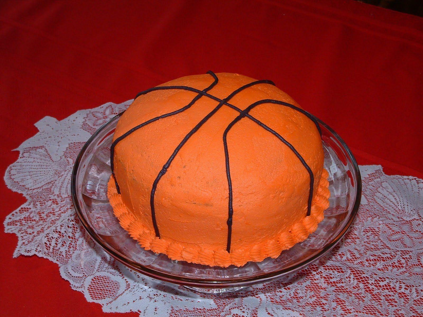 Basketball cake Jaxson Birthday Party Ideas Pinterest Birthday