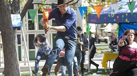 Jeff Winger owns a tight cowboy outfit