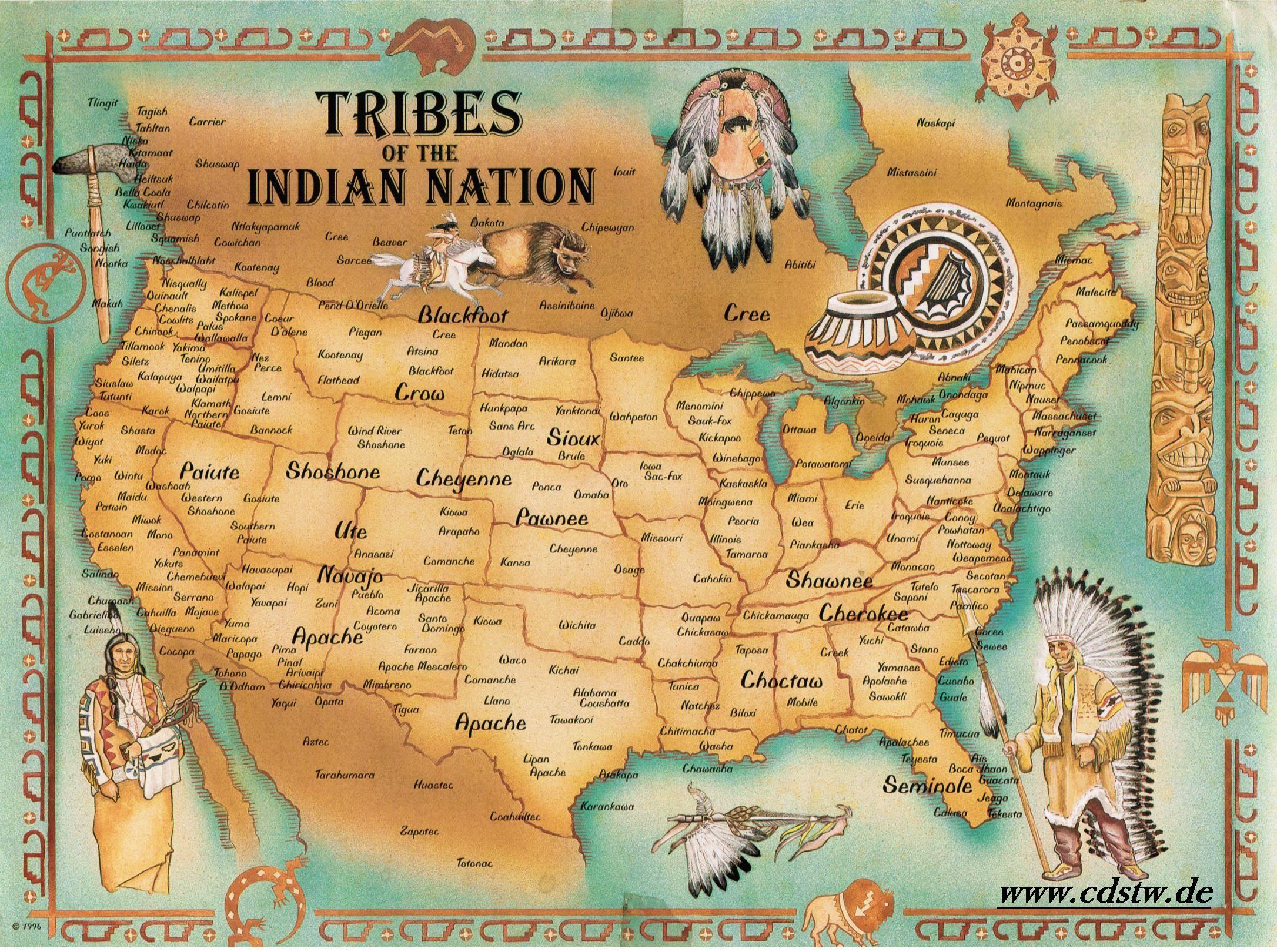 Nordamerik. Indianerstamm