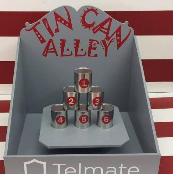 Tin Can Alley Carnival Games Target Gallery Trade Show