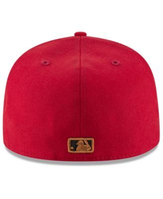 online store 2649e 47161 New Era Cincinnati Reds Ultimate Patch Collection 125th Anniversary 59FIFTY  Fitted Cap - Red 7 1 2