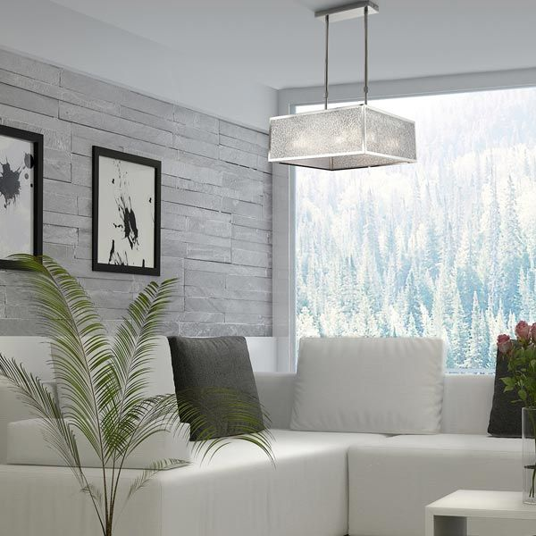 Lámpara de estilo moderno perfecta para salones. acabado en color ...
