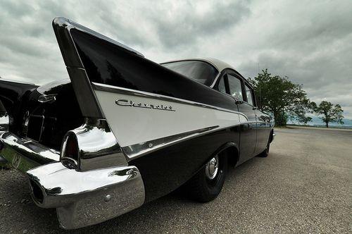 Sic, 1957 Chevy 210 by polara 64 on Flickr.