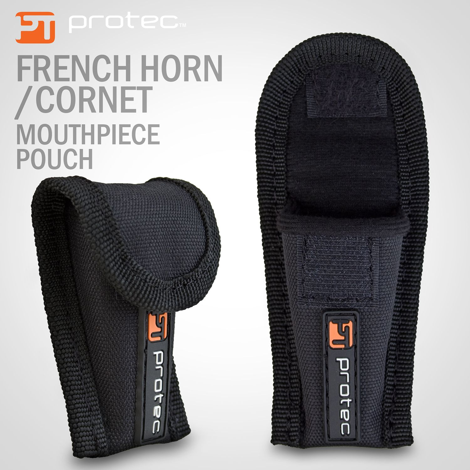 Nylon Padded Mouthpiece Pouch for French Horn/Cornet