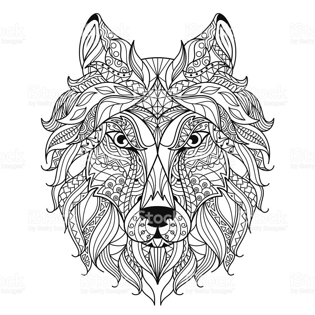 28+ Difficult wolf coloring pages for adults ideas in 2021