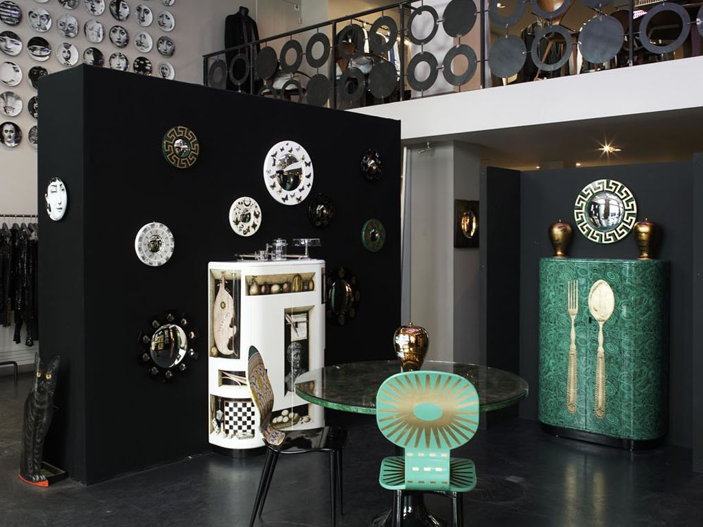 Fornasetti Mobili ~ Fornasetti art and furniture at leclaireur in paris bb