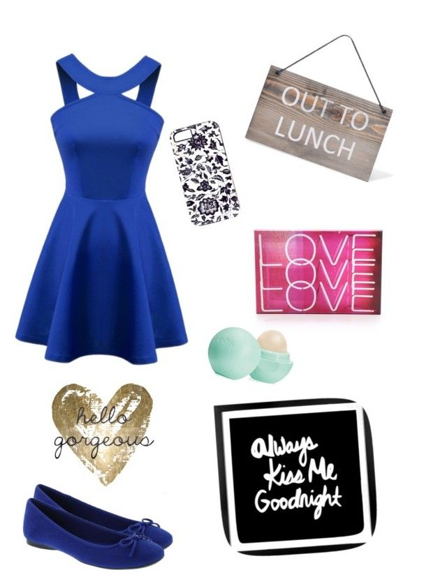 """""""Date Night"""" by emapphire ❤ liked on Polyvore featuring beauty, Oliver Gal Artist Co., Garden Trading and Eos"""