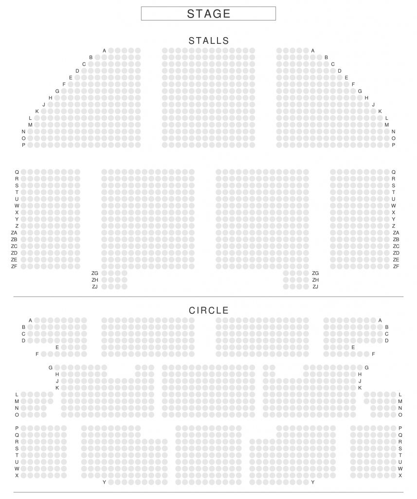 Apollo Theatre London Seating Plan Seating Plan Apollo Theater How To Plan