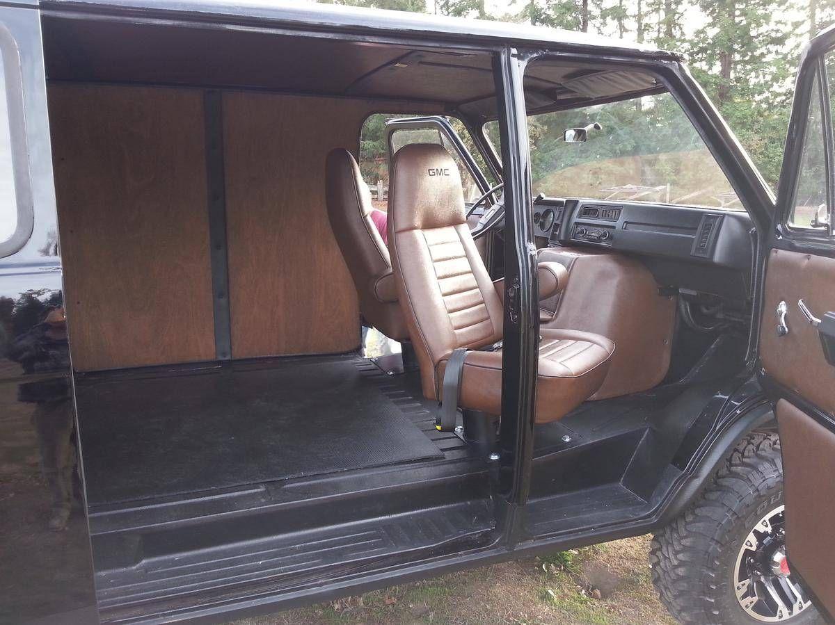 Chevy van van interior offroad truck vehicles