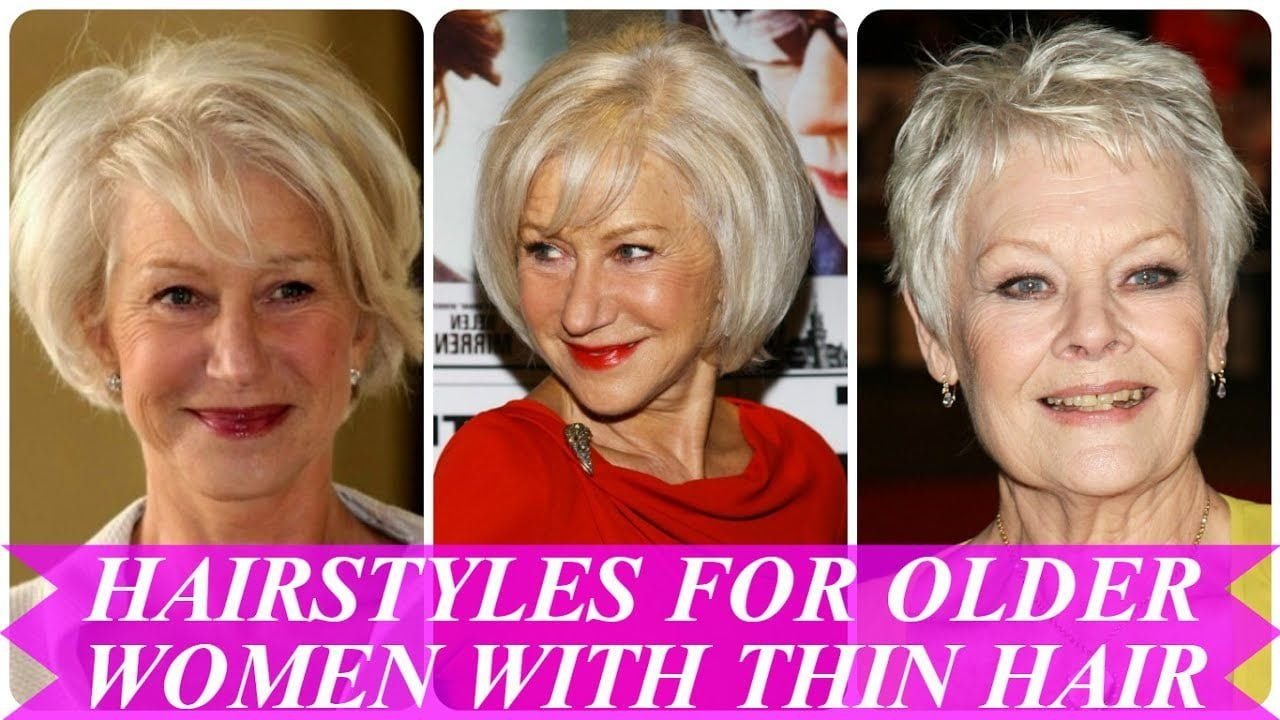 Hairstyles for women losing hair hairstyles for seniors