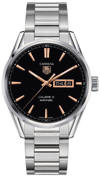 "TAG Heuer Carrera WAR201C.BA0723: ""WAR201C.BA0723 NEW TAG HEUER CARRERA CALIBRE 5 DAY/DATE MEN'S LUXURY… #Watches #Watch #LuxuryWatch"