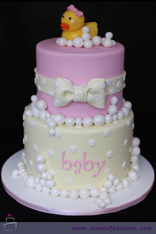 Cake · Rubber Duck Baby Shower ...