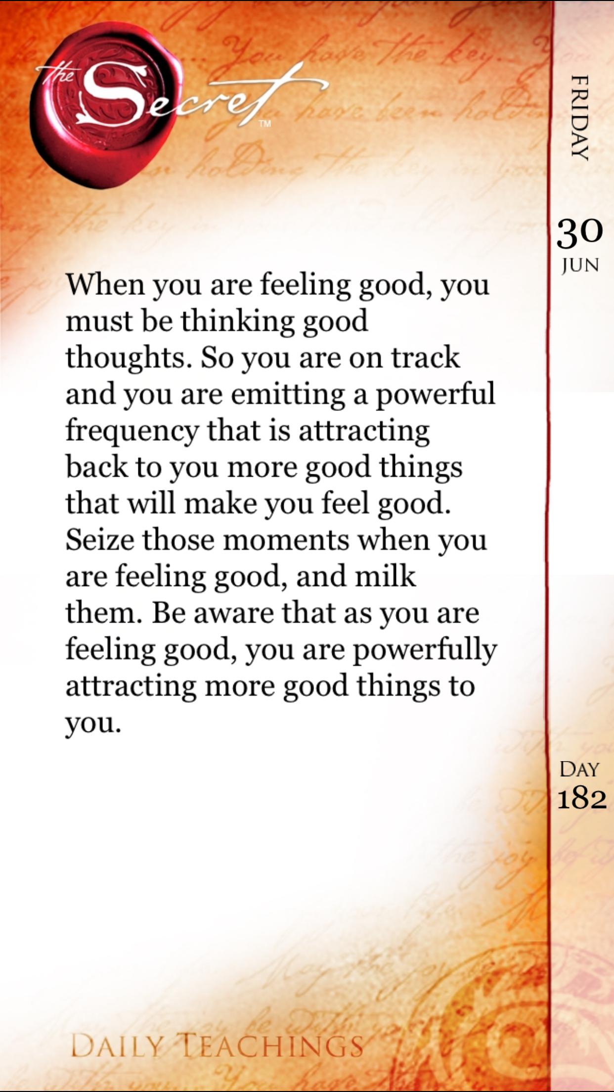 Seize The Good
