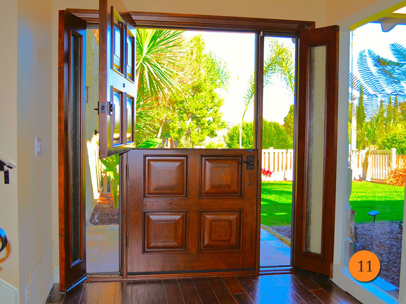 42 X80 Inch Wide Single Dutch Entry Door
