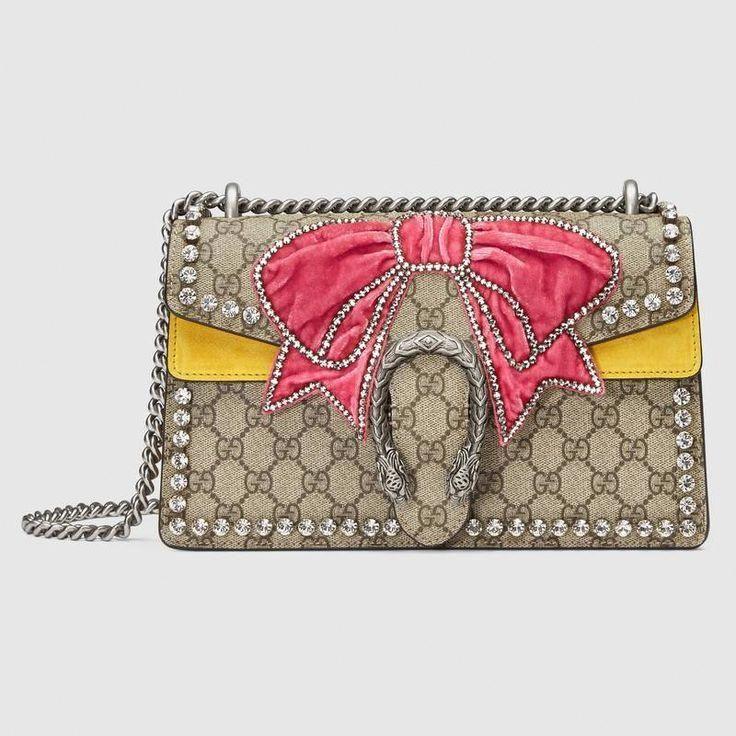7bb9021bd40 Gucci Dionysus small shoulder bag with bow - Gorgeous!  gucci  handbag   purse