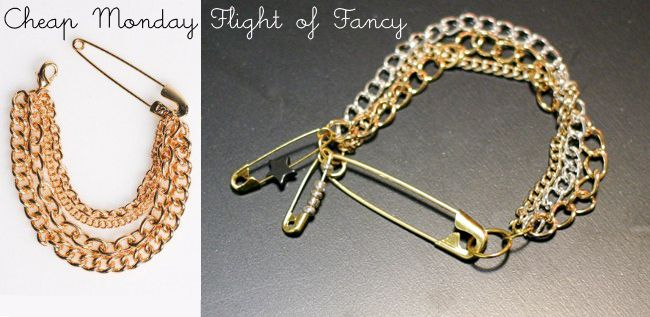Sicherheitsnadel  - Armband- Bracelet