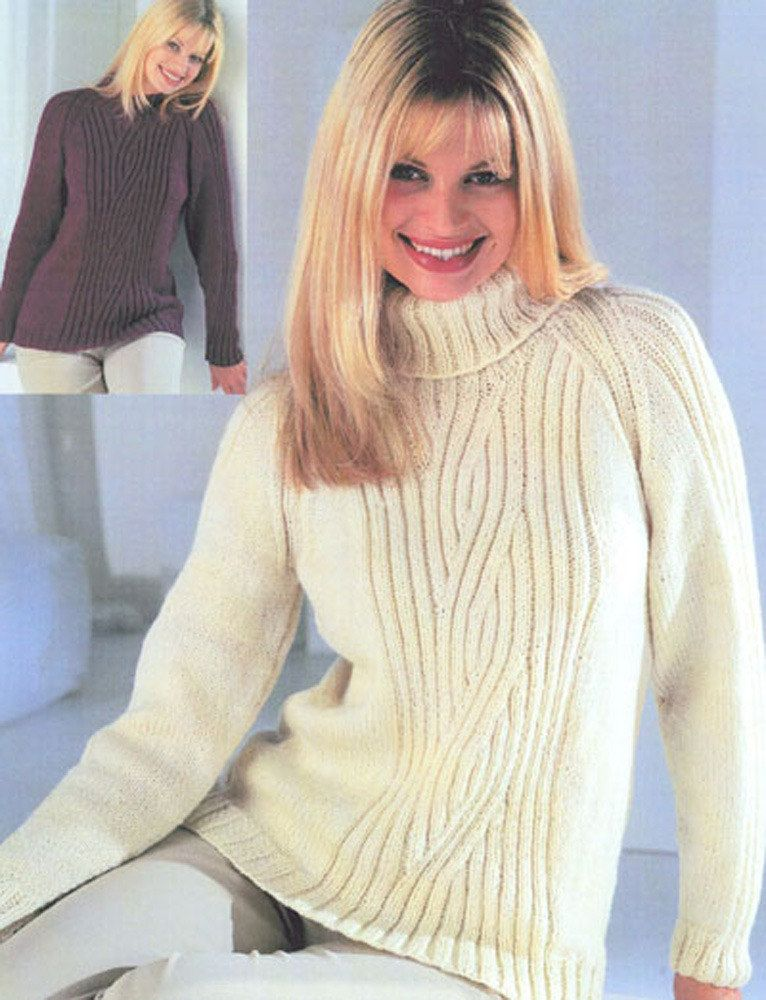85862efabe51b Raglan Sweater with Crew or Polo Neck in Wendy Aran with Wool. Discover  more Patterns by Wendy at LoveKnitting. The world s largest range of  knitting ...